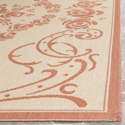 Safavieh Kalya Floral Rectangular Indoor/Outdoor Accent Rug
