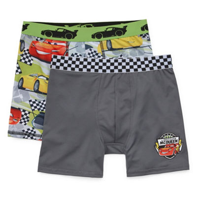 2-pack Cars Boxer Briefs Preschool Boys