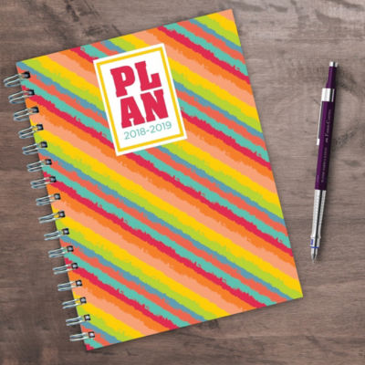 July 2018 - June 2019  Plan ME Medium Weekly Monthly Planner