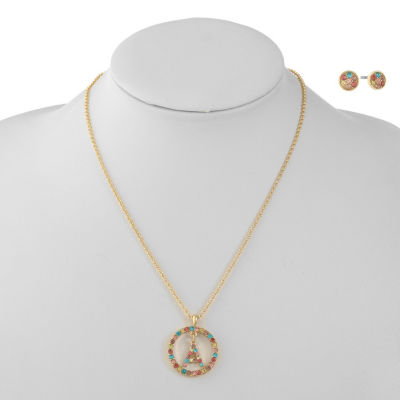 Liz Claiborne Womens 2-pack Multi Color Jewelry Set