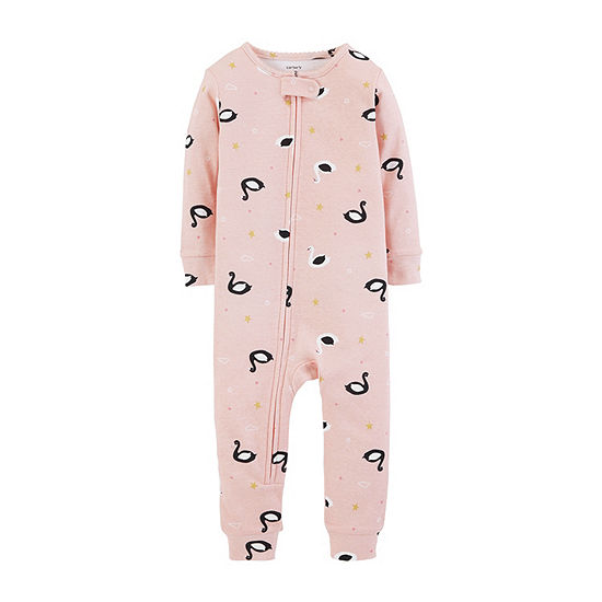 Carters Long Sleeve One Piece Pajama Toddler Girls JCPenney ffeeb2930