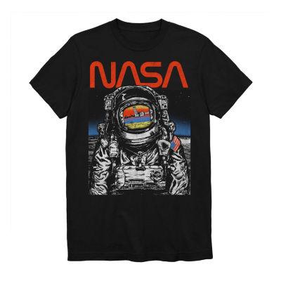 NASA Walking The Moon Graphic Tee