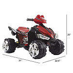Lil Rider Battery-Powered Ride-On Toy Quad