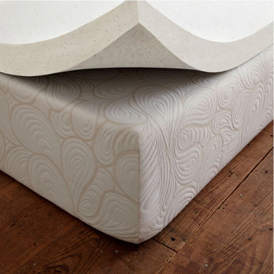 "SleepWise Copper Comfort 1.5"" Gel Infused Memory Foam Mattress Topper"
