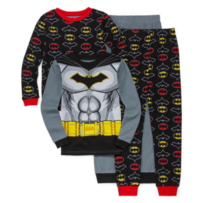 4-pc. Batman Pajama Set Big Kid Boys