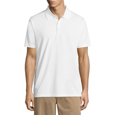 Dickies Mens Wrinkle Resistant Short Sleeve Polo Shirt
