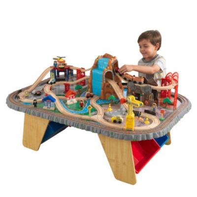 KidKraft Waterfall Junction Train Set & Table