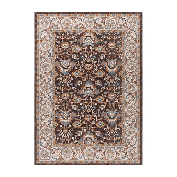Tayse Frances Traditional Oriental Area Rug