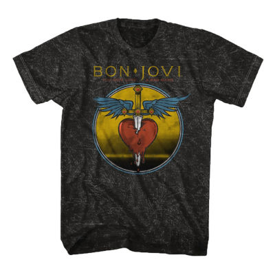 Bonjovi You Give Love a Bad Name Graphic Tee