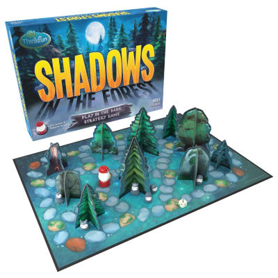 Thinkfun Shadows In The Forest Table Game
