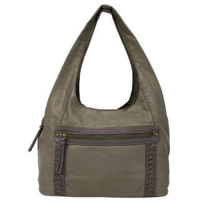 St. John's Bay Whipstitch Hobo Bag