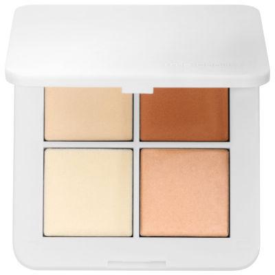 rms beauty Luminizer X Quad Highlighter Palette