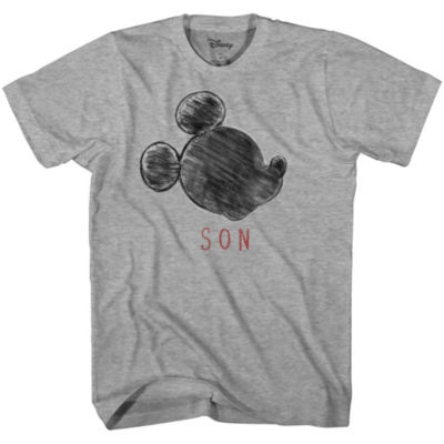 Mens Disney Son Graphic T-Shirt- Adult Sizes