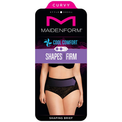 Maidenform Curvy Tame Your Tummy Firm Control Control Briefs 0055j