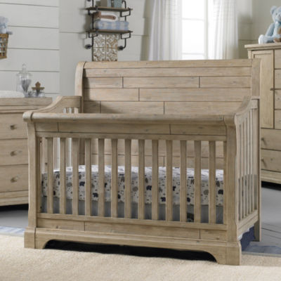 Cosi Bella Delfino Baby Crib - Farmhouse Pine