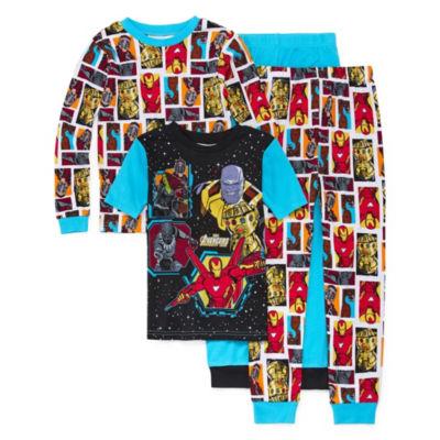 Avengers 4-pc. Pajama Set Boys