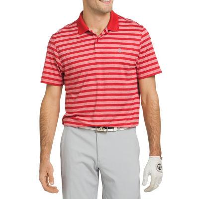 IZOD Short Sleeve Stripe Polo Shirt