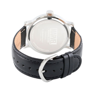 Punisher Mens Black Strap Watch-Wma000265