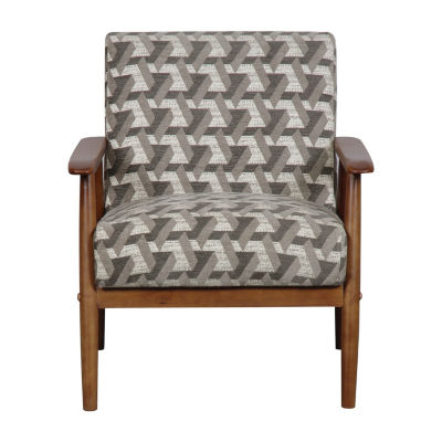 Wood Frame Accent Chair