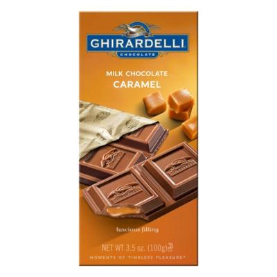 Ghirardelli Chocolate Milk Chocolate Caramel 3.5 oz - 12 Count