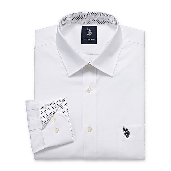 U.S. Polo Assn. Long Sleeve Broadcloth Dress Shirt