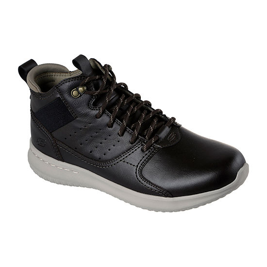 Skechers Mens Delson Oxford Shoes