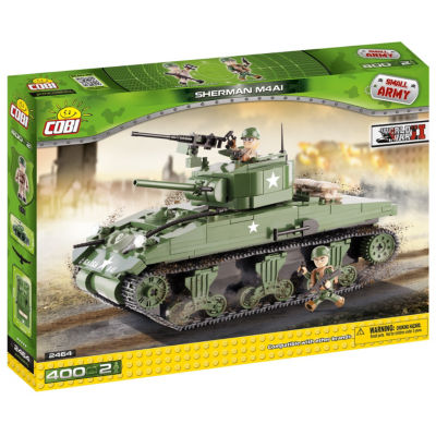Cobi Small Army Ww-Sherman M4A1 Tank Construction Blocks Building Kit