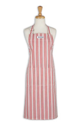 Sun Dried Tomato Herringbone Stripe Apron