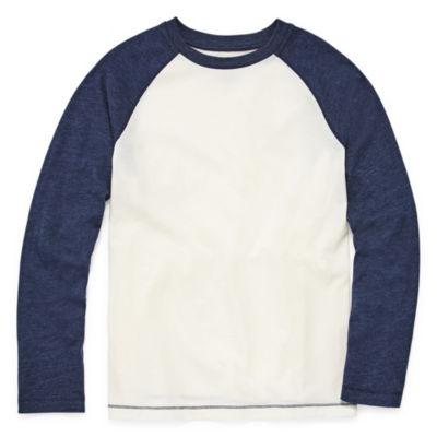 Arizona Long Sleeve Raglan T-Shirt Boys 4-20