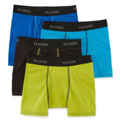 Hanes® Boys' Ultimate Super Soft Lightweight Boxer Briefs 4-Pack
