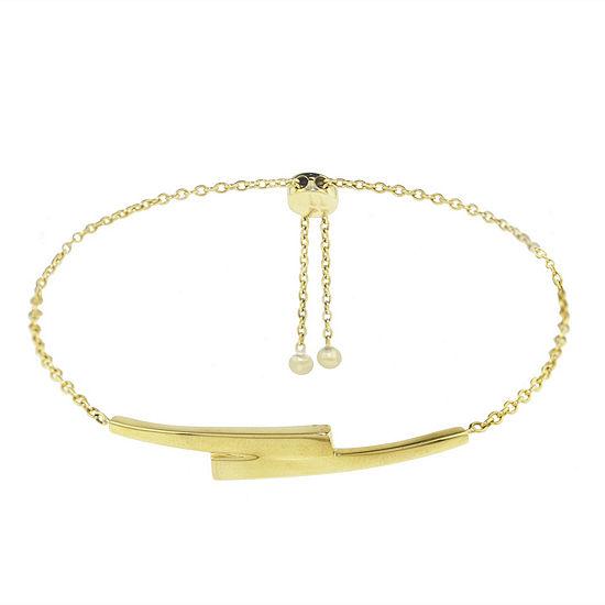 Sechic 14K Gold Bolo Bracelet