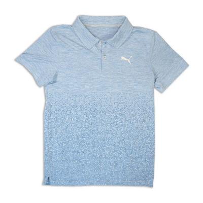 Puma Short Sleeve Jersey Polo Shirt - Preschool Boys