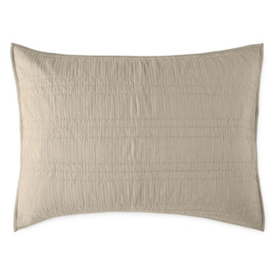 JCPenney Home Gauze Embellished Pillow Sham