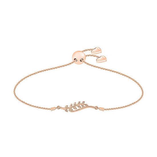 10K Rose Gold Bolo Bracelet