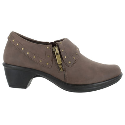 Easy Street Womens Darcy Ii Shooties Zip Round Toe