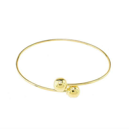 Sechic 14K Gold Bangle Bracelet