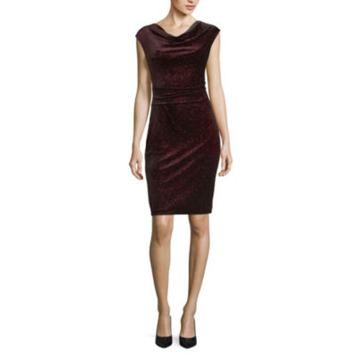Jessica Howard Sleeveless Party Dress-Petite