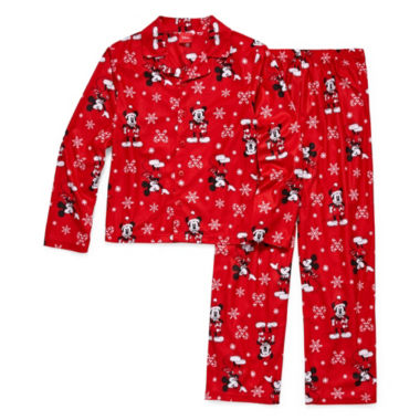 Mickey/Minnie 2 Piece Pajama Set - Boy's Toddler