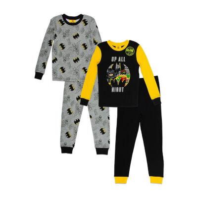 Lego Boys Fall 18 Sleepwear 4-pc. Lego Pajama Set Boys