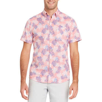 IZOD Short Sleeve Button-Front Shirt