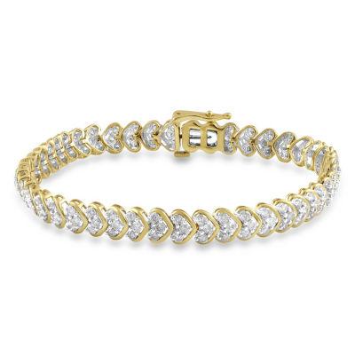 10K Gold 7.5 Inch Box Link Bracelet