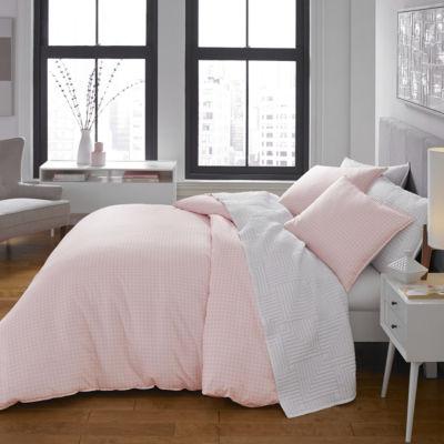 City Scene Reversible Comforter Set