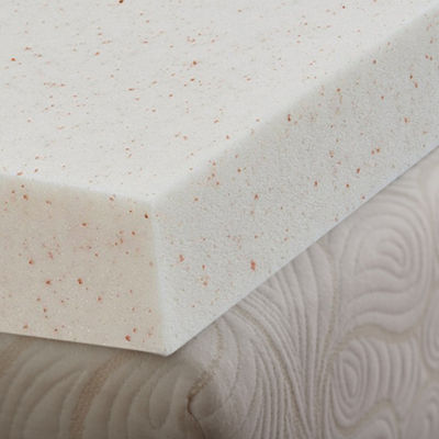 "SleepWise Copper Comfort 4"" Gel Infused Memory Foam Mattress Topper"