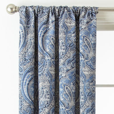 JCPenney Home Florence Blackout Rod-Pocket Curtain Panel