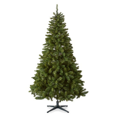 North Pole Trading Co. 6 1/2 Foot Albany Pre-Lit Christmas Tree