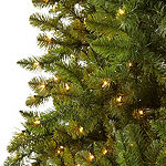 North Pole Trading Co. 9 Foot Albany Pre-Lit Christmas Tree
