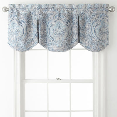 JCPenney Home Florence Rod-Pocket Tailored Valance