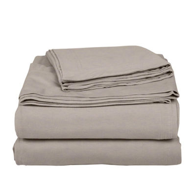Exclusive Fabrics & Furnishing Knit Craze® 100% Premium Combed Cotton Jersey Sheet Set With Aloe Vera Treatment