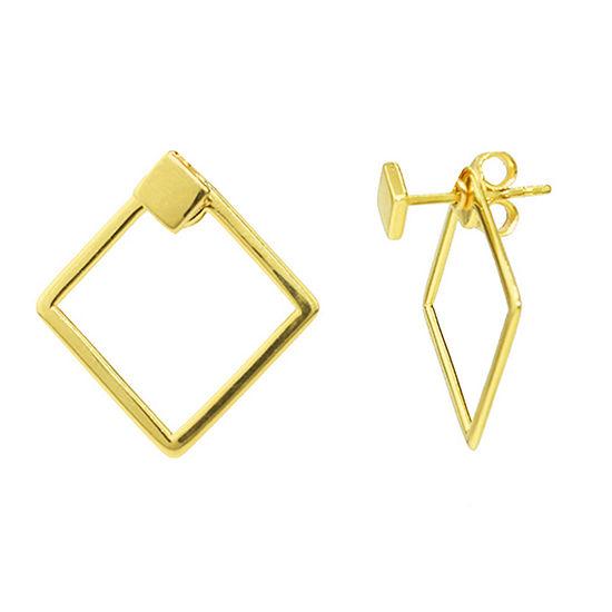 Sechic 14K Gold Diamond Earring Jackets