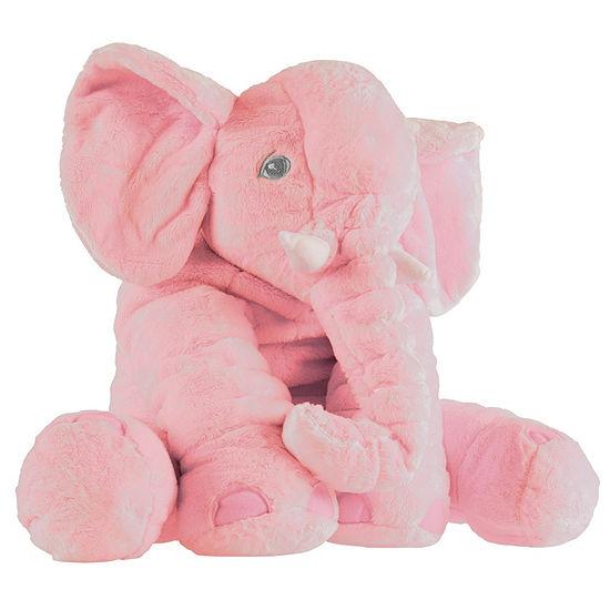 Happy Trails Stuffed Elephant